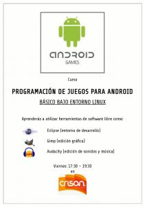 Programación de juegos para Android