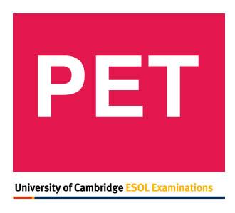 PET ESOL Examinations