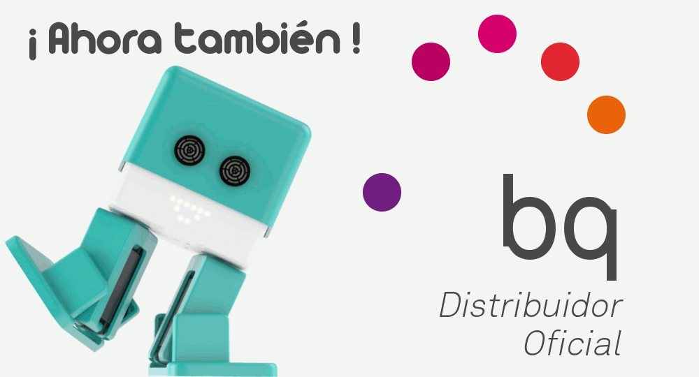 Ahora también distribuidor oficial BQ