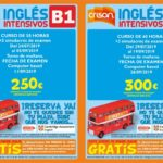 Cursos intensivos de inglés. Cambridge B1 B2