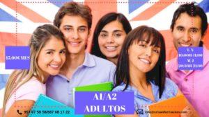 Inglés A1 y A2 para adultos