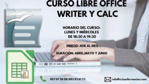 Curso LibreOffice Writer Calc